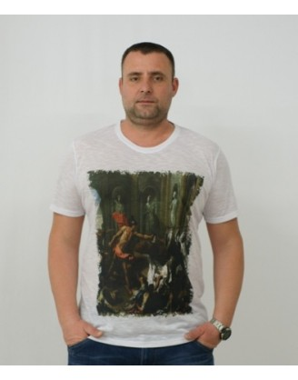 мъжка тениска със сублимационен принт