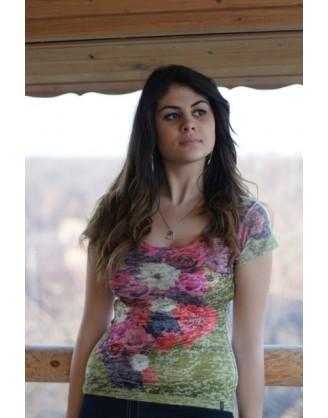 дамска тениска със сублимационен принт