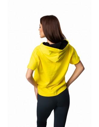 дамска тениска с качулка